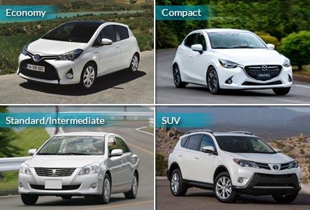 Car Rental Category
