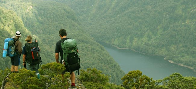 Tramping Hiking Guided Walks